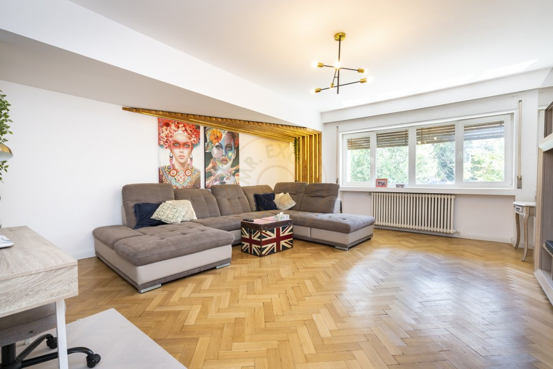Calea Victoriei   Apartament elegant de 2 camere la mezanin  Finisaje premium 1