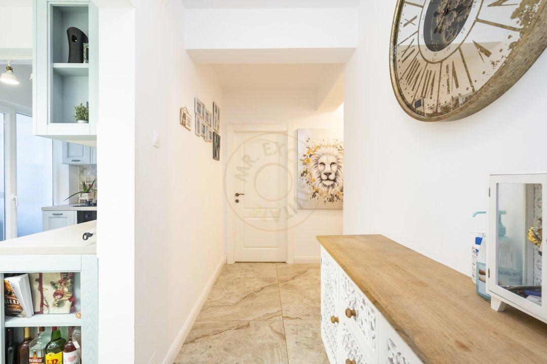 Calea Victoriei   Apartament elegant de 2 camere la mezanin  Finisaje premium 9