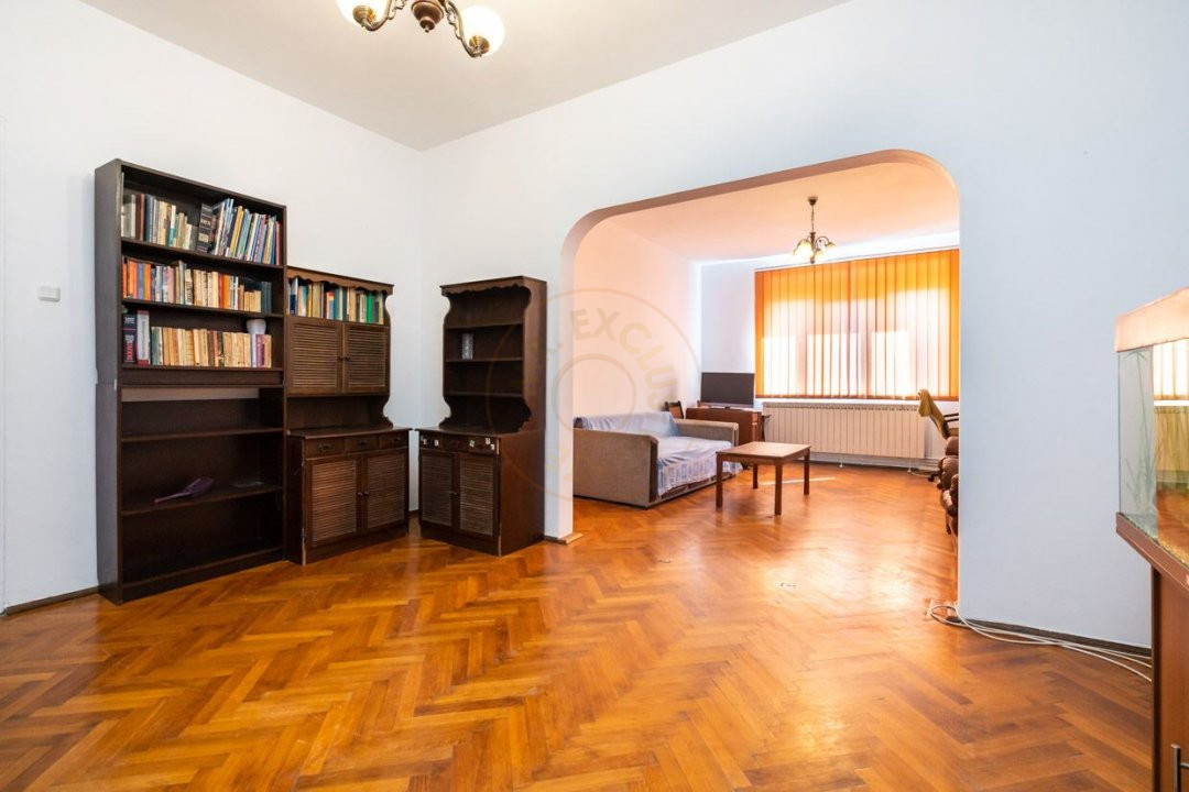 Apartament 3 camere pe strada  Icoanei 3