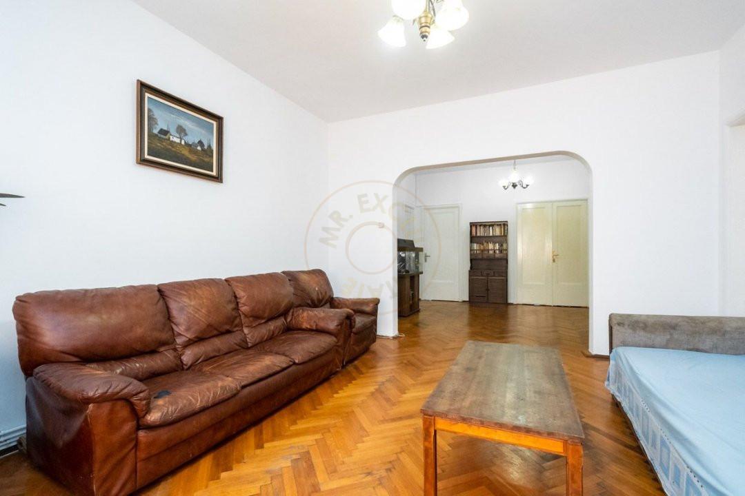 Apartament 3 camere pe strada  Icoanei 10