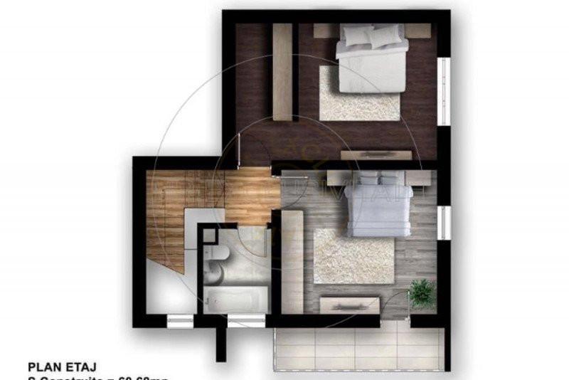 Casa mediteraneana 3 camere - Zona Slava 22