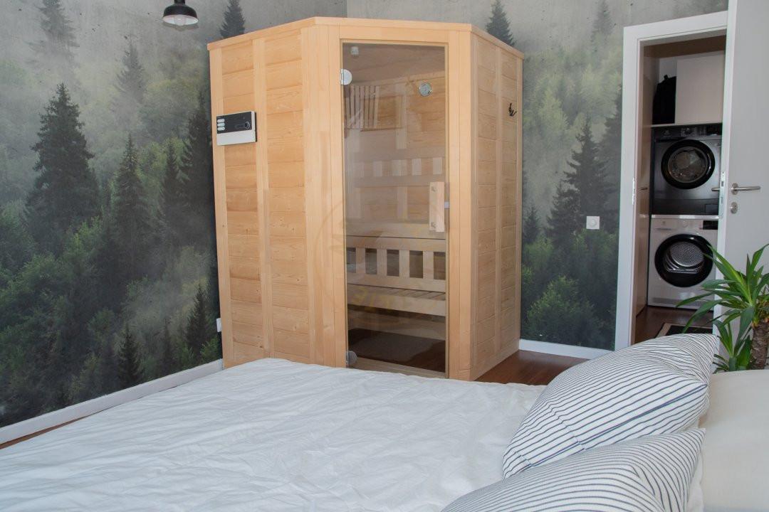 Apartament de doua camere cu sauna 10