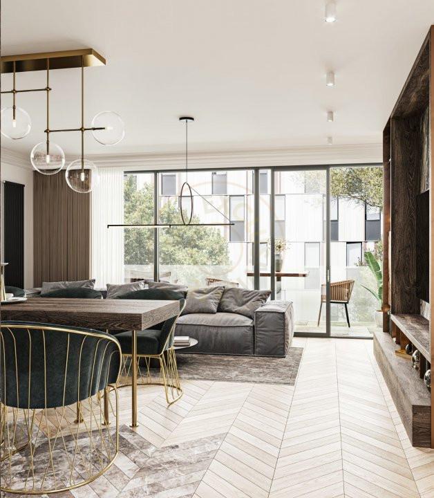 Apartament boutique, 3 cam, 101 mp, Floreasca 7