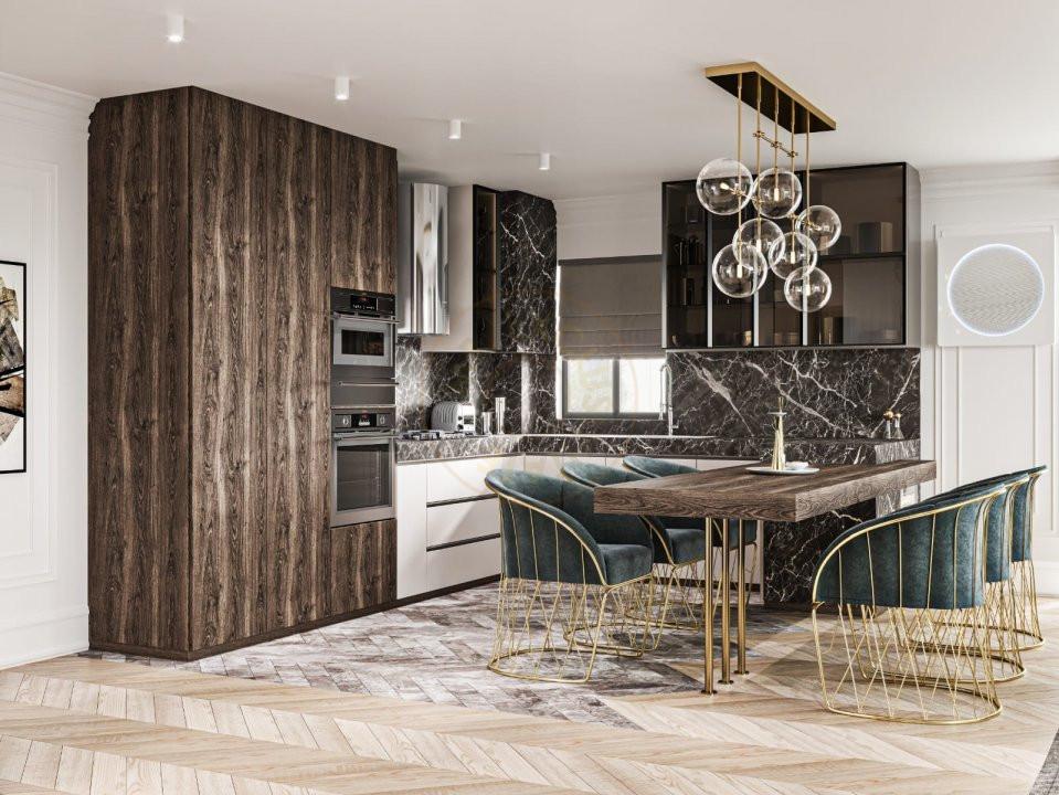 Apartament boutique, 3 cam, 101 mp, Floreasca 8
