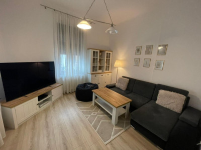 Apartament cochet de 2 camere cu terasa si curte, langa Parcul Carol