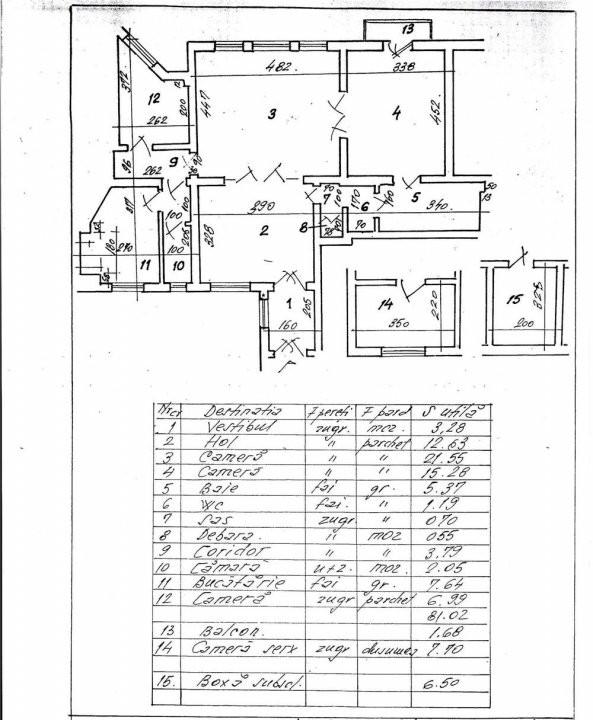 Apartament  3 Camere Piata  Kogalniceanu   8