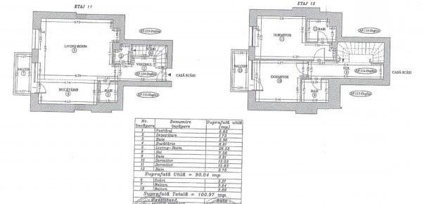 Penthouse de vanzare  zona   Academiei- Panduri 8