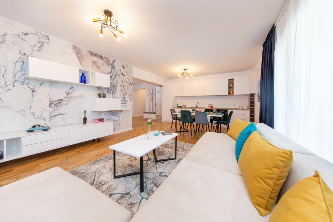 Apartament cu 4 camere decomandat in Nordul Capitalei - Luxuria Residence 1