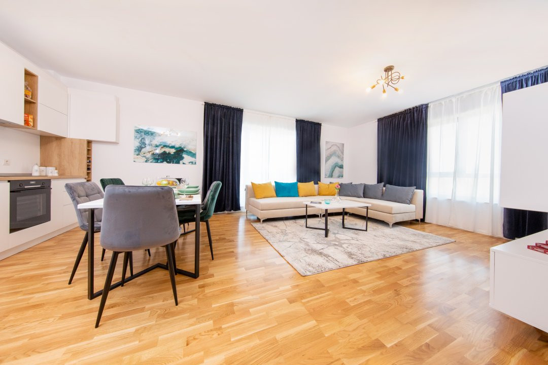 Apartament cu 4 camere decomandat in Nordul Capitalei - Luxuria Residence 4