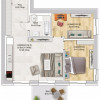 Apartament cu 2 Camere + Office in Nordul Capitalei - Luxuria Residence thumb 17