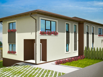 Duplex 4 camere, Dezmir,Cluj - Comision 0%
