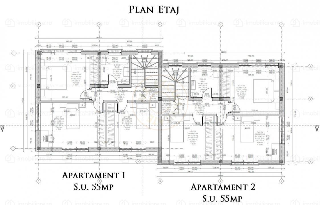 Duplex 4 camere, Dezmir,Cluj - Comision 0%    4