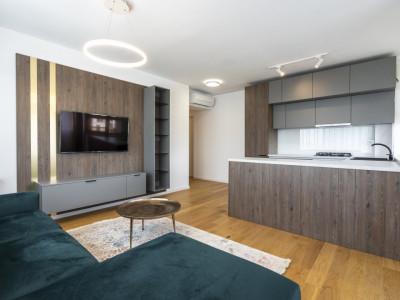 Apartament 3camere mobilat modern, cartier Aviatiei Park