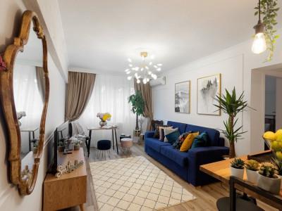 INVESTITIE PROFITABILA! Apartament cochet cu vedere la Calea Victoriei- 4 camere