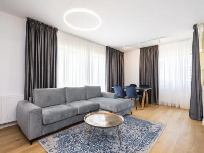 De inchiriat apartament 3camere mobilat modern, cartier Aviatiei Park