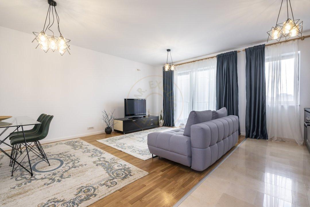 Apartament elegant de 2 camere cu parcare subterana in Luxuria Residence 3