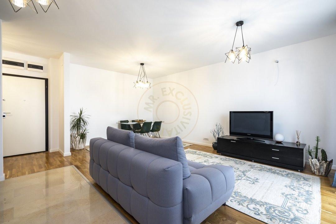 Apartament elegant de 2 camere cu parcare subterana in Luxuria Residence 4