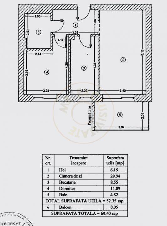 Apartament elegant de 2 camere cu parcare subterana in Luxuria Residence 21