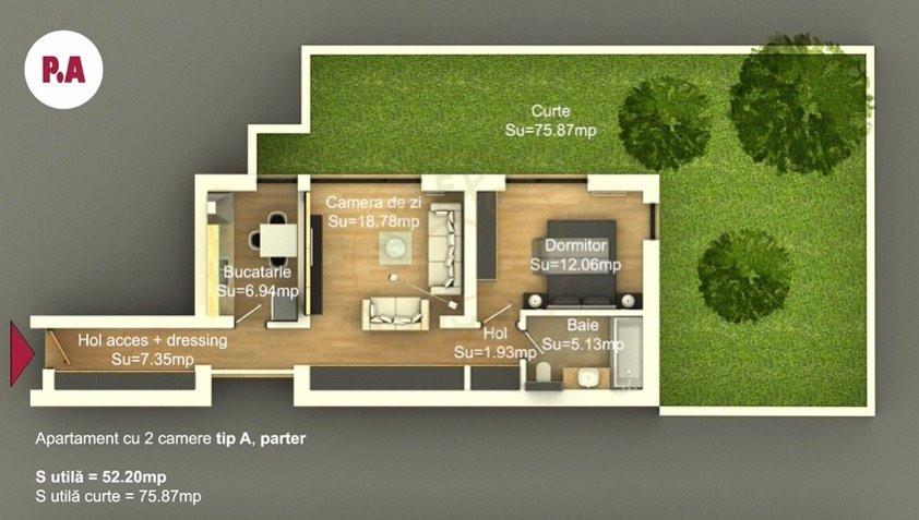 Ansamblu Rezidential Soseaua Viilor 1 si 2 Camere/direct Dezvoltator 4