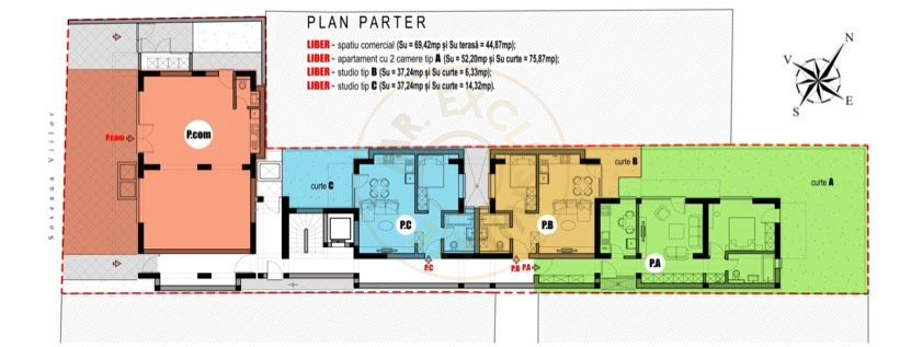 Ansamblu Rezidential Soseaua Viilor 1 si 2 Camere/direct Dezvoltator 7