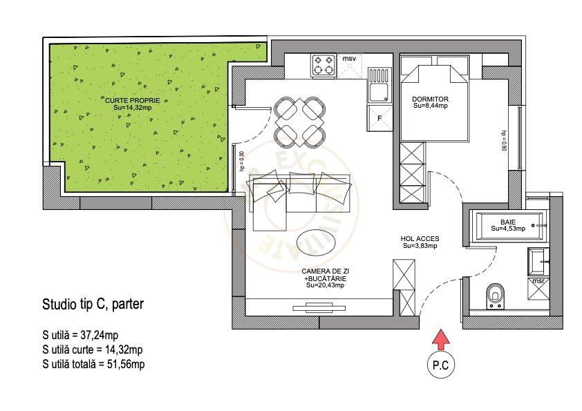 Ansamblu Rezidential Soseaua Viilor 1 si 2 Camere/direct Dezvoltator 5