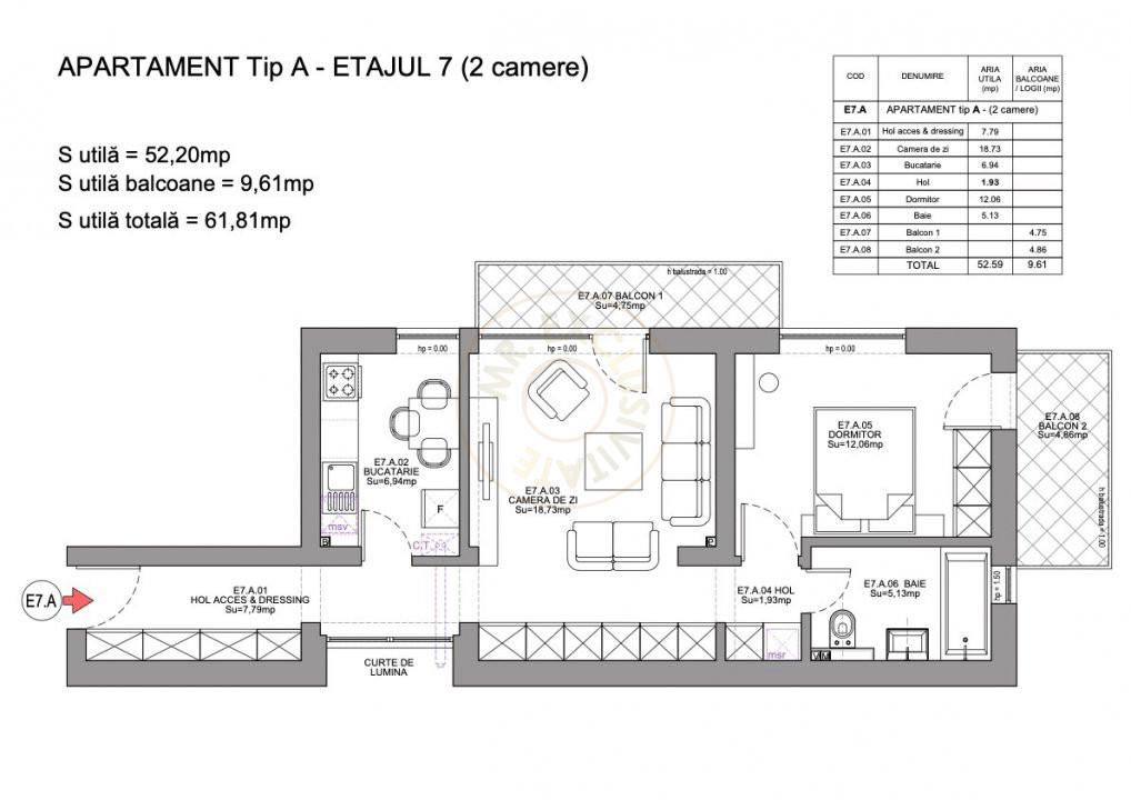 Ansamblu Rezidential Soseaua Viilor 1 si 2 Camere/direct Dezvoltator 3