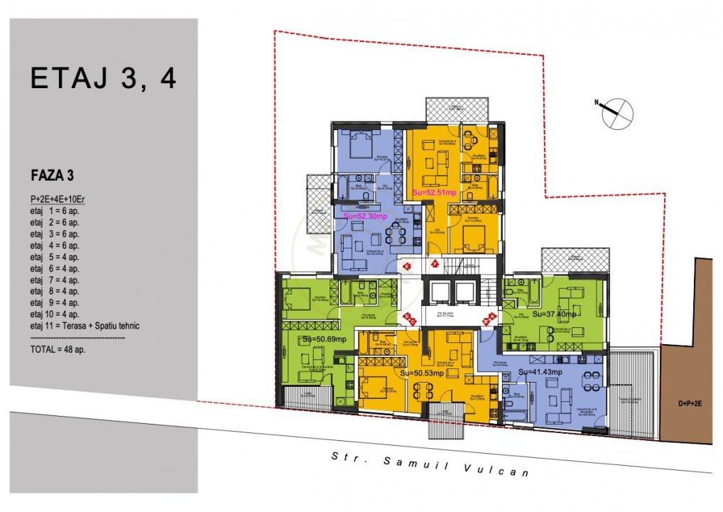 Ansamblu Rezidential 13 Septembrie 1,2 si 3 Camere/direct Dezvoltator 5