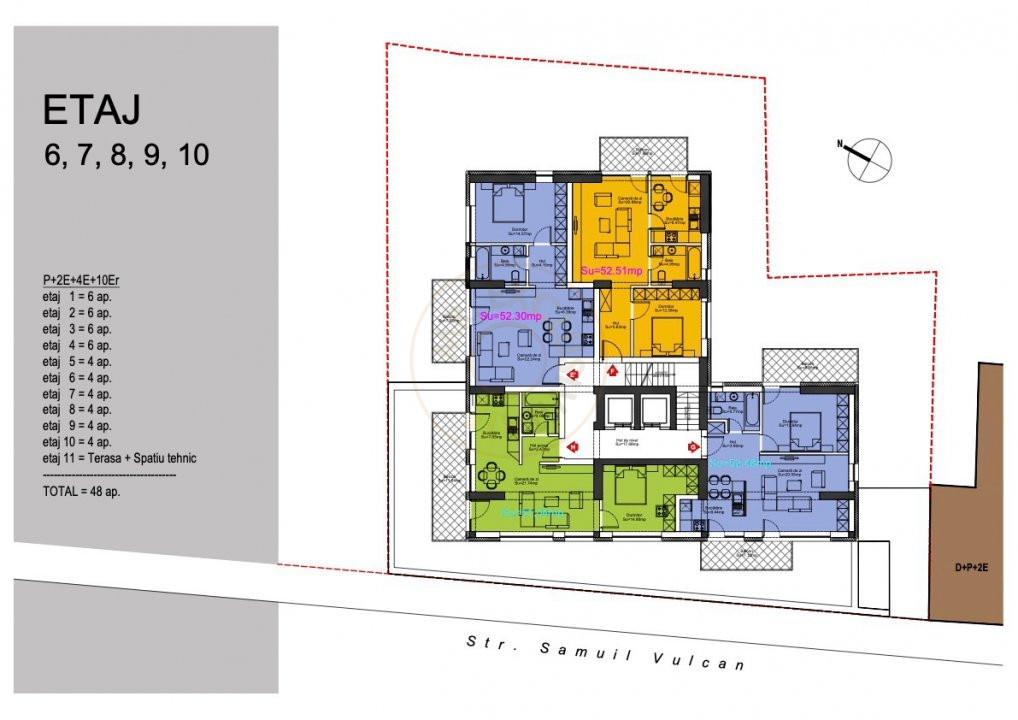 Ansamblu Rezidential 13 Septembrie 1,2 si 3 Camere/direct Dezvoltator 7