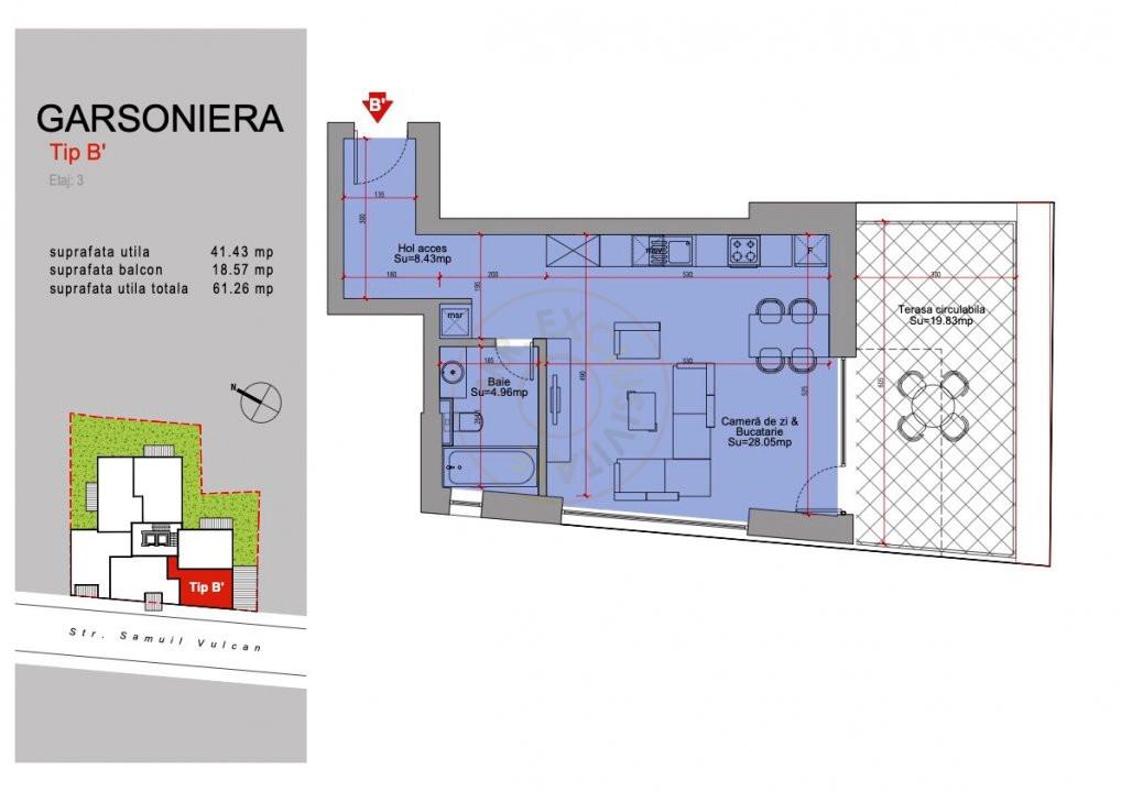 Ansamblu Rezidential 13 Septembrie 1,2 si 3 Camere/direct Dezvoltator 15