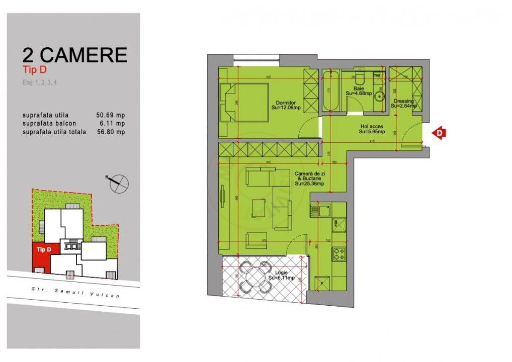 Ansamblu Rezidential 13 Septembrie 1,2 si 3 Camere/direct Dezvoltator 18