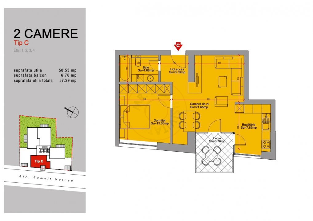 Ansamblu Rezidential 13 Septembrie 1,2 si 3 Camere/direct Dezvoltator 19