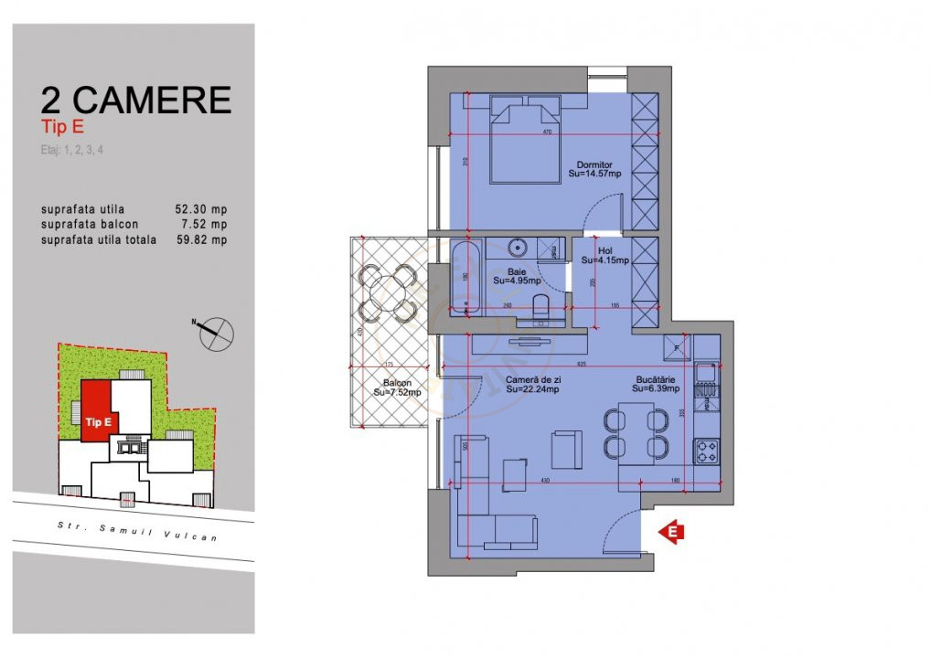 Ansamblu Rezidential 13 Septembrie 1,2 si 3 Camere/direct Dezvoltator 20