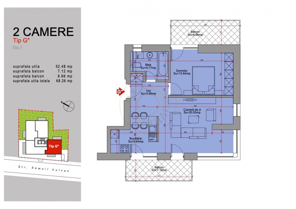 Ansamblu Rezidential 13 Septembrie 1,2 si 3 Camere/direct Dezvoltator 26