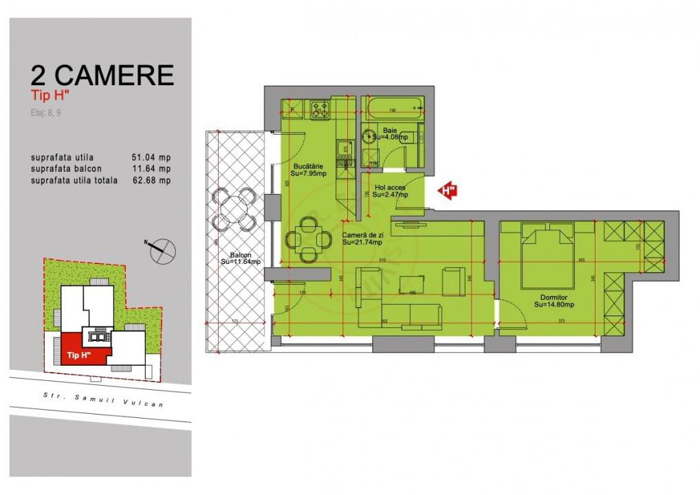 Ansamblu Rezidential 13 Septembrie 1,2 si 3 Camere/direct Dezvoltator 28
