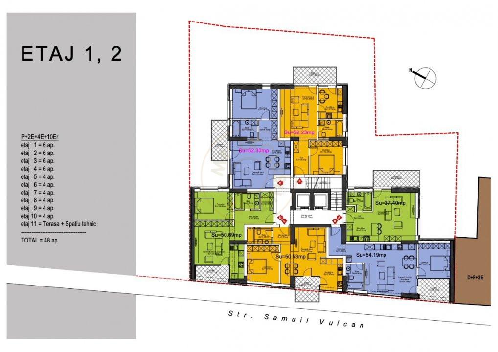 Ansamblu Rezidential  13 Septembrie 1,2 si 3 Camere/direct Dezvoltator 4