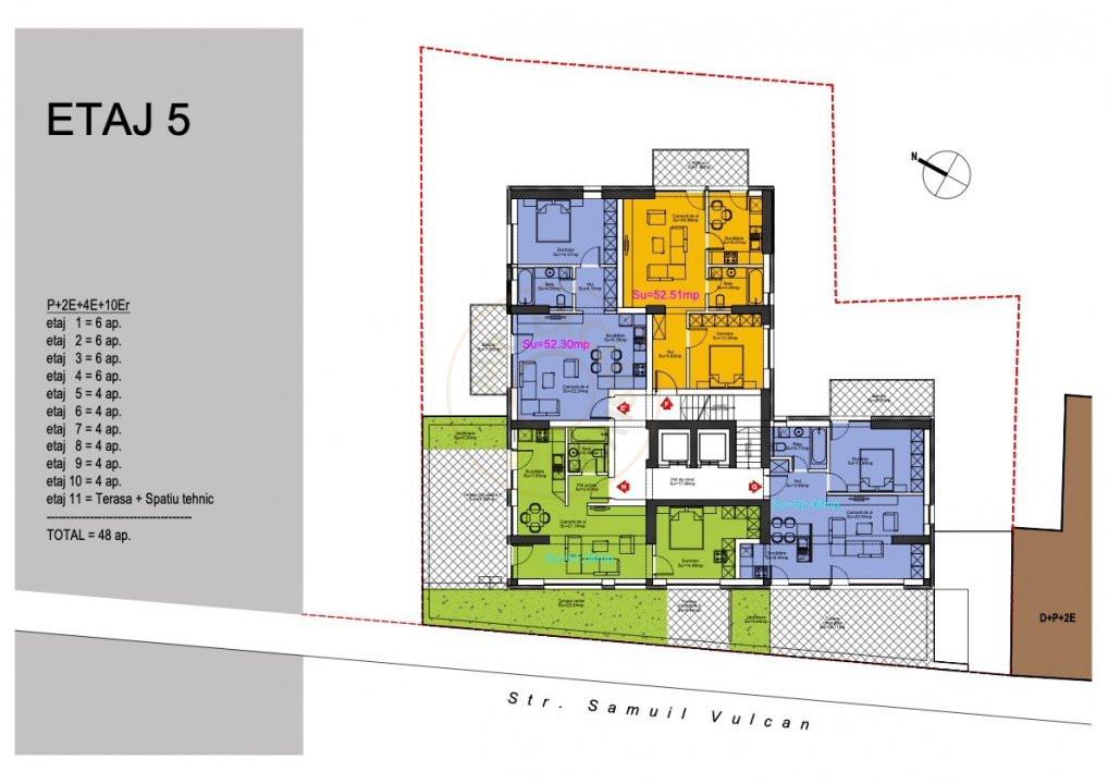Ansamblu Rezidential  13 Septembrie 1,2 si 3 Camere/direct Dezvoltator 6