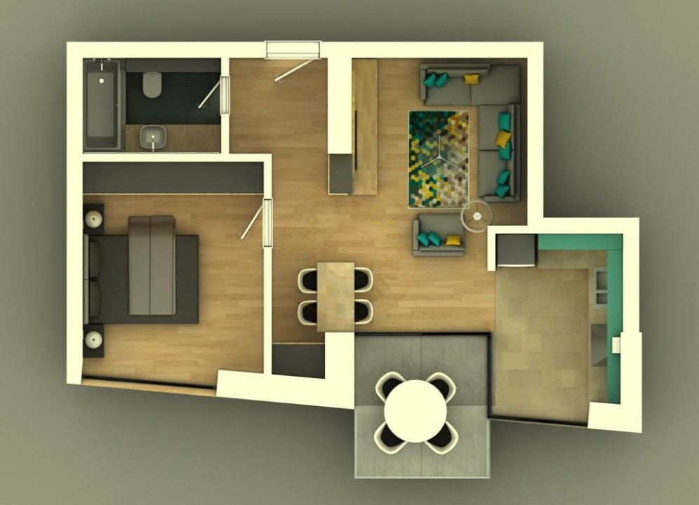 Ansamblu Rezidential  13 Septembrie 1,2 si 3 Camere/direct Dezvoltator 8