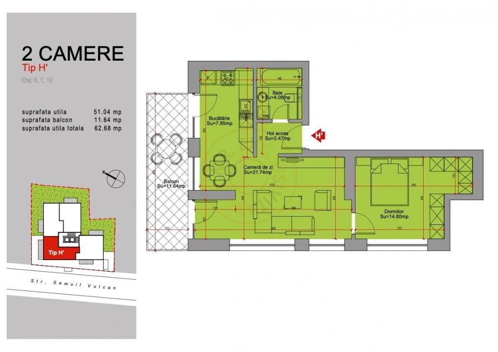 Ansamblu Rezidential  13 Septembrie 1,2 si 3 Camere/direct Dezvoltator 27