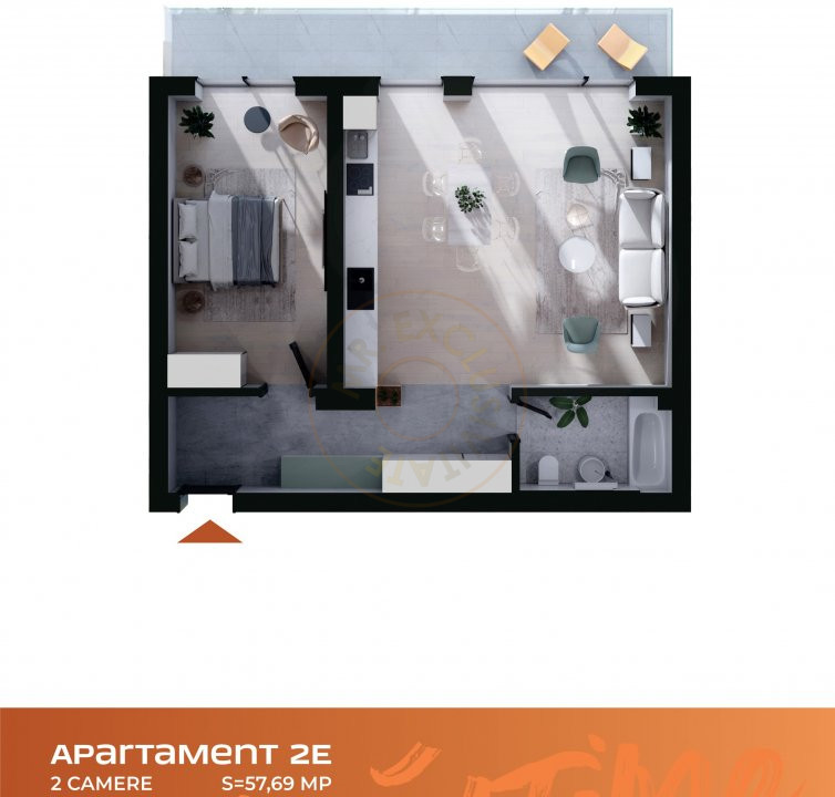 Apartament 2 camere Cluj Napoca Comision-0% 5