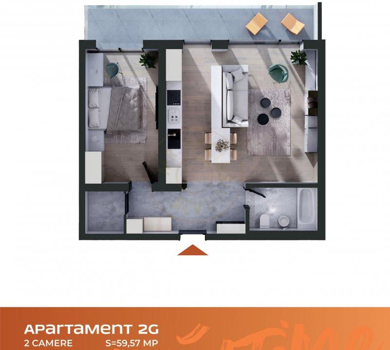 Apartament 2 camere Cluj Napoca Comision-0% 6