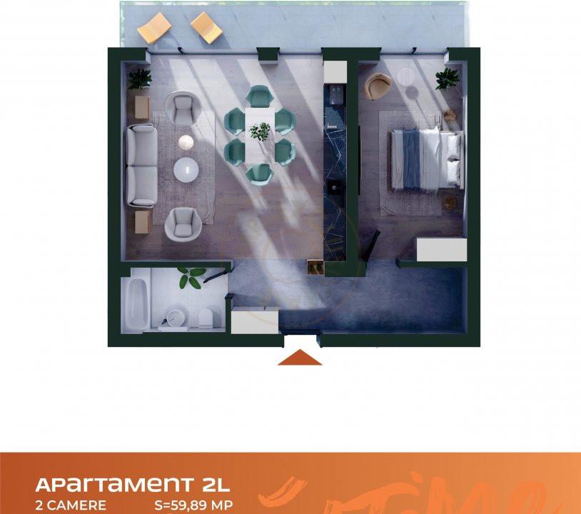 Apartament 2 camere Cluj Napoca Comision-0% 9