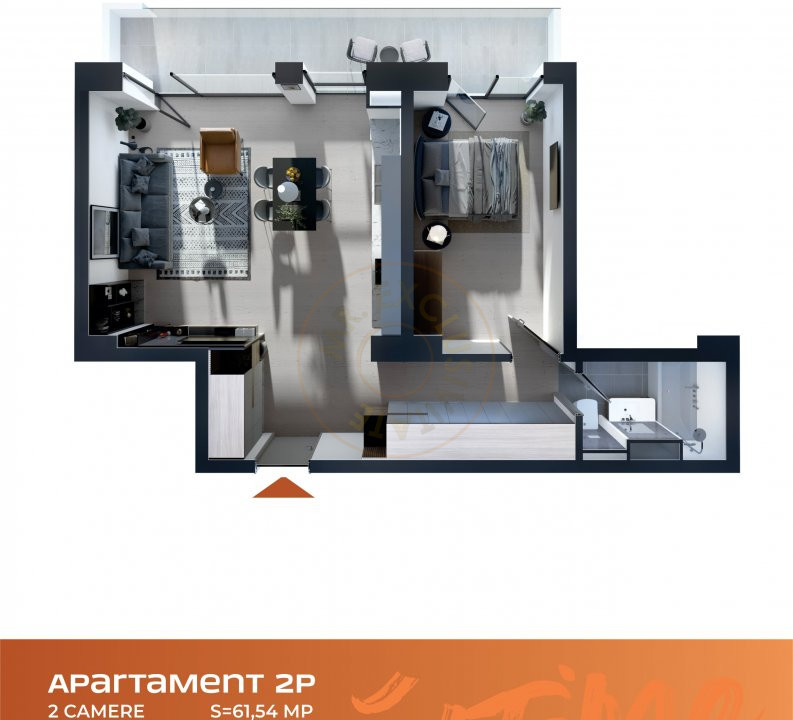 Apartament 2 camere Cluj Napoca Comision-0% 10